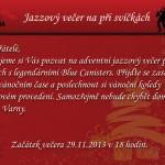29.11.2013 – JAZZOVÝ VEČER PŘI SVÍČKÁCH