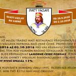 Svatý Václav na Varně 28.9. – 2.10.2016