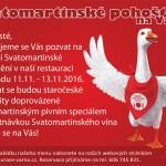 Svatomartinské pohoštění na Varně