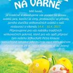 Velikonoce na Varně 14.4.-16.4.2017