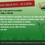 Zvěřinový víkend na Varně 24.2.-25.2.2018